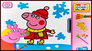 ❤️ Learn Colors & Colouring with Peppa Pig ❤️ Peppa's Paintbox ❤️ Best Peppa Pig App Demo #peppapig
