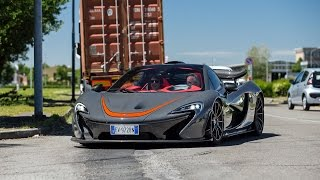 "McLaren P1 MSO on the famous Ferrari Circuit ""Pista di Fiorano"""