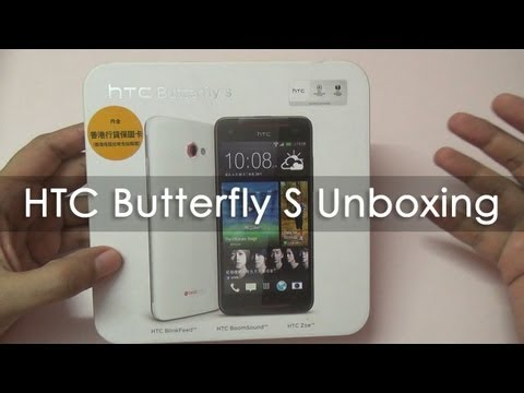 HTC Butterfly S Unboxing & Hands On Overview
