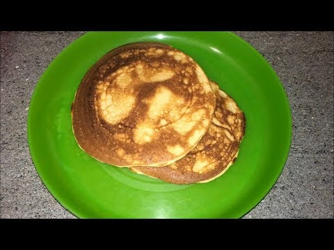 How to make easy & healthy pancakes/Pancake recipe  in Telugu(English Subtitles)