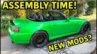 Rebuilding A Wrecked Honda S2000 Part 11