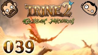 Let's Play Together Trine 2 #039 - Durch das Reich der Wolken [720p] [deutsch]