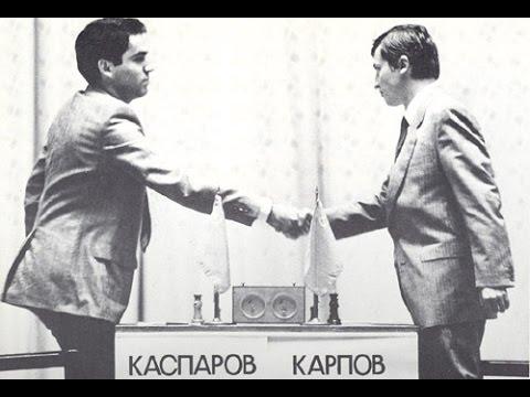 Kasparov - Karpov, Leningrad /Bratislavská šachová akadémia/
