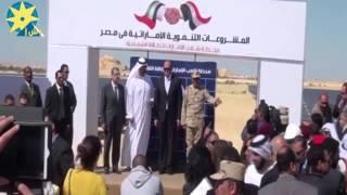 بالفيديو:إفتتاح محطة شعب الإمارات للطاقة الشمسية في سيوة بطاقة إنتاجية تبلغ 10 ميجاواط