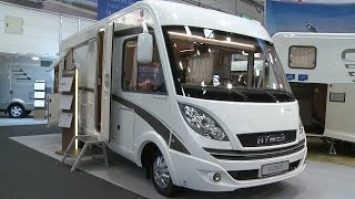 Hymer B 598 PL Autocamper (2015 Model) - (Caravan salon 2014)