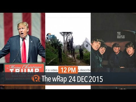 ISIS in PH, Republican candidates, Beatles in Spotify| 12PM wRap
