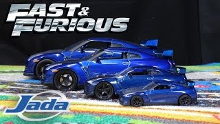 Fast & Furious 7 - Nissan GTR R35 - Jada Toys Scale Models