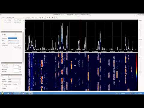IC-7600 RTL-SDR RTTY 20m Ham Radio