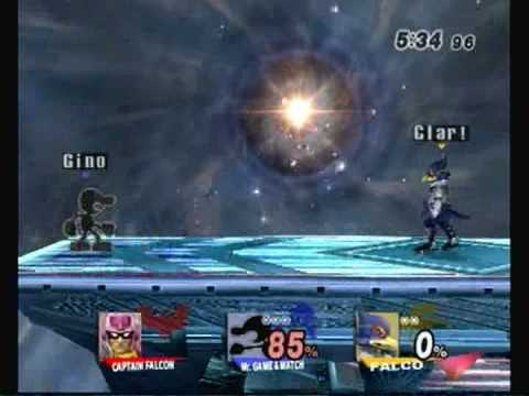 Gino(G&W) vs GameMastaClario(Falco) Match 3/3