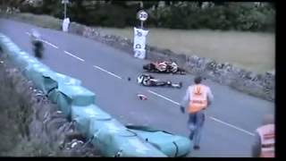 ISLE OF MAN TT RACE CRASHES   NEWEST