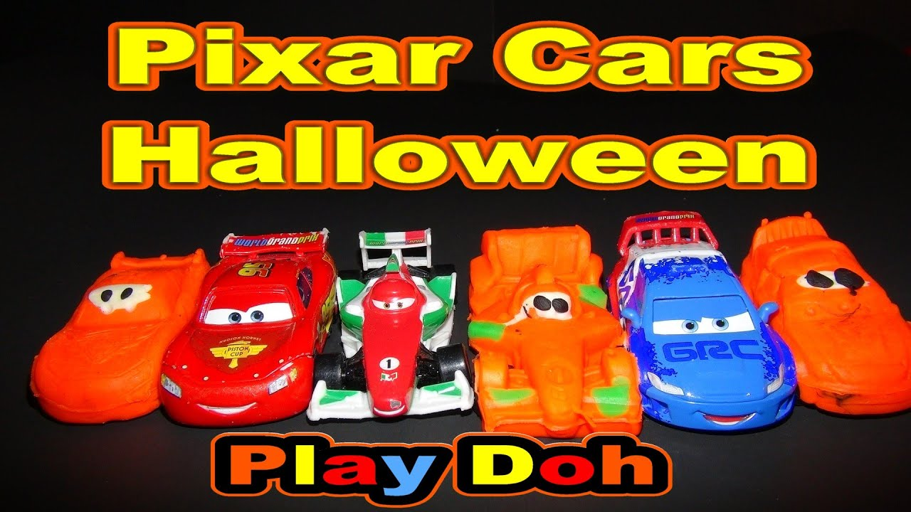 Play Doh Pixar Cars Halloween Fun With Lightning McQueen Francesco Bernoulli