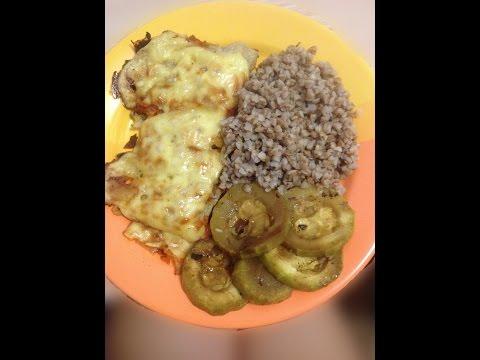 Фитнес питание/ Диетическое блюдо/ Рыба в духовке