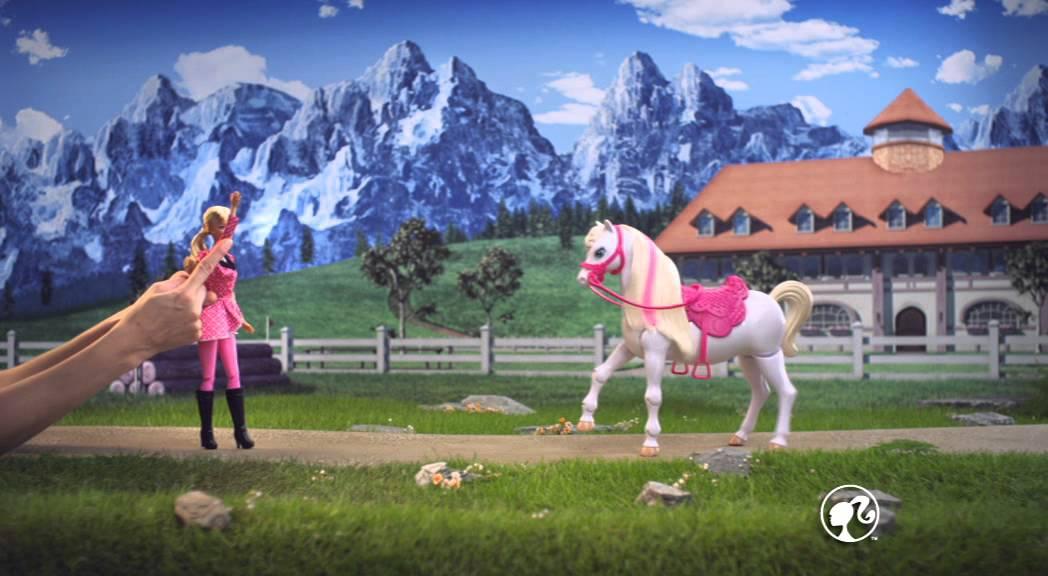 Barbie et son cheval de concours youtube - Barbie et son cheval ...