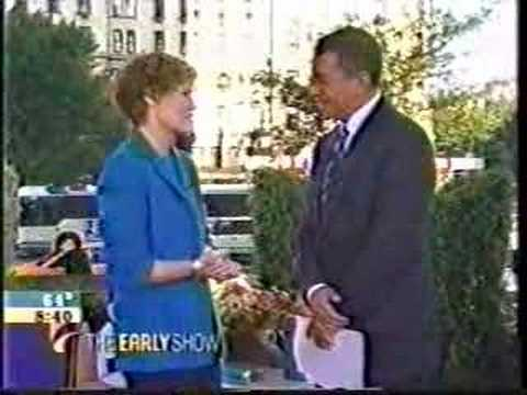 Judy Blume - The Early Show - Double Fudge Tour :1 of 2