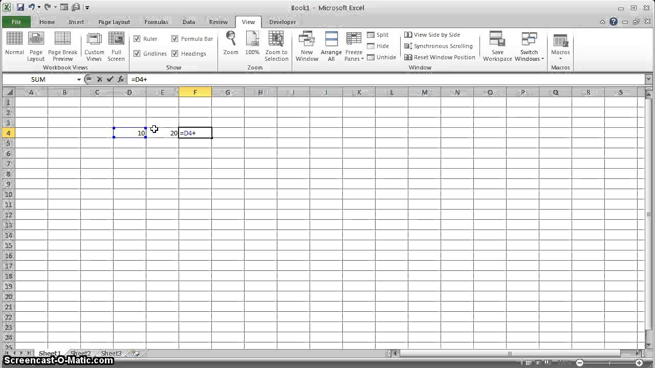 how to add gridlines in excel pivot table
