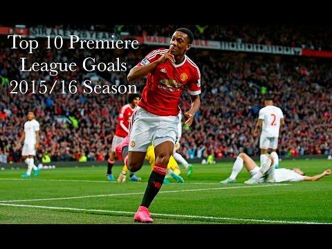 Top 10 Best Goals In the Premier League 2015/2016 Season