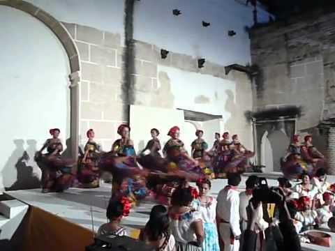 Las chiapanecas bailable de Tuxtla Gutiérrez Chiapas
