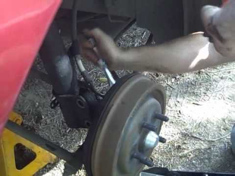 Rear Strut Removal And Installation Youtube