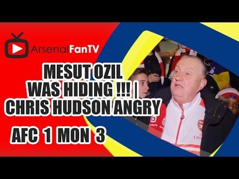 Mesut Ozil Was Hiding !!! | Chris Hudson Angry - Arsenal 1 AS Monaco 3