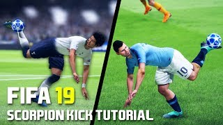 FIFA 19 SCORPION KICK TUTORIAL | PS4 and XBOX ONE