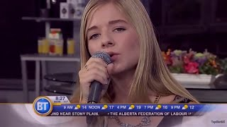 "Jackie Evancho Sings ""Your Love"" from Her NEW CD for BT TV"