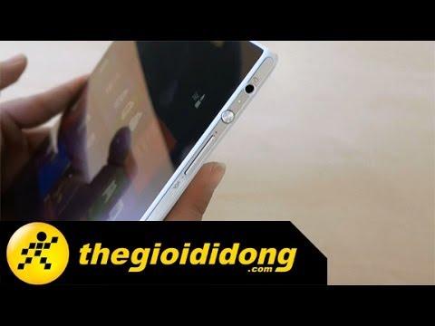 Mở hộp Sony Vaio Tap 11   www.thegioididong.com