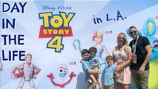 DAY IN THE LIFE IN LA |  AD |  BRAND NEW TOY STORY 4 TOYS
