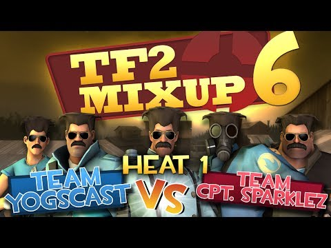 Yogscast Vs Captainsparklez - Tf2 Charity Mixup Match Round 1 video