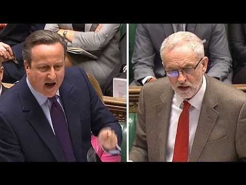 David Cameron savages Jeremy Corbyn on Hamas 'friends'