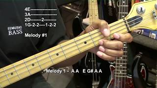 EASY STAND BY ME Ben E King Bass Guitar Lesson EricBlackmonMusicHD Soul