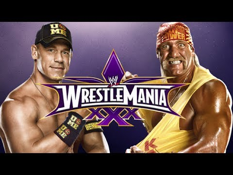 WWE 2K14 - Hulk Hogan vs John Cena (Wrestlemania 30) - YouTube