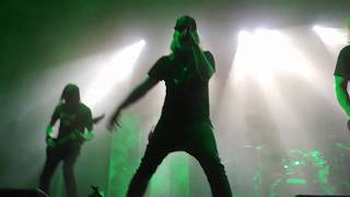 At The Gates - Blinded By Fear - Live HD - Barcelona sala razzmatazz 18/01/19