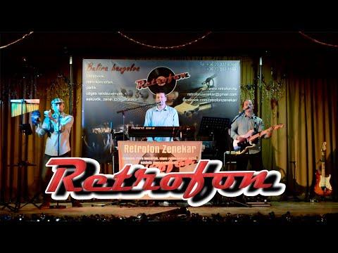 RETROFON zenekar demo (esküvőre, utcabálra, céges partira, fesztiválra, retro koncertre)