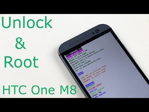 HTC One M8 : How to Unlock Bootloader & Root - Easiest Method
