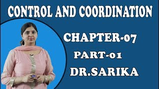 Control And Coordination Class 10 Science / Biology | Structure and Function of Neuron | Dr. Sarika