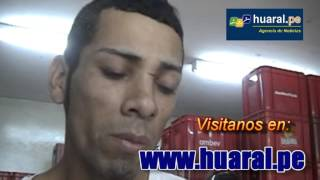 Captura de Andy Araujo en Huaral