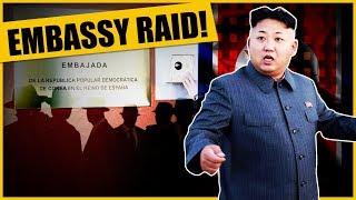 US Media Blackout! Secret Raid On North Korean Embassy In Spain Exposed!