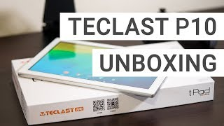 Teclast P10 Unboxing: A Full HD Android Nougat Tablet At Under 100$