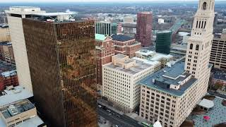 Moving to Hartford, Connecticut.