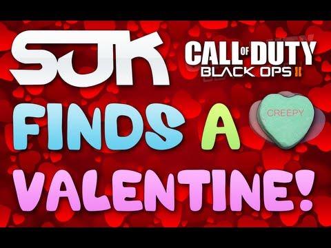 Suk Finds A Valentine! (black Ops 2 Milf Sex) video