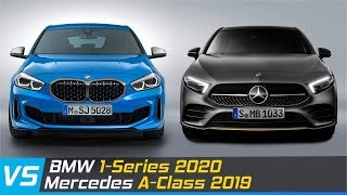 2020 BMW 1-Series Vs 2019 Mercedes A-Class | Design & Dimensions