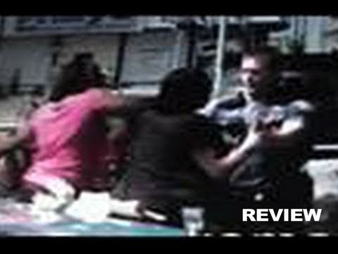 Seattle Wa Police Punch Teenage Girl In Face?!?! Video