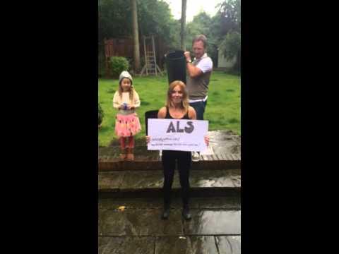 Geri Halliwell ALS Ice Bucket Challenge