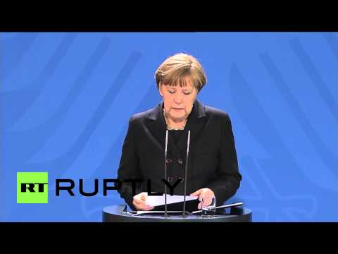 Germany: Merkel declares Germanwings co-pilot news