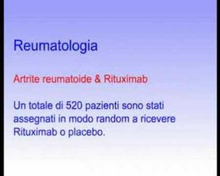 Rituximab nel trattamento dell'artrite reumatoide resistente
