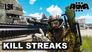 CLOSE KILL STREAKS - Arma 3 King of the Hill v12