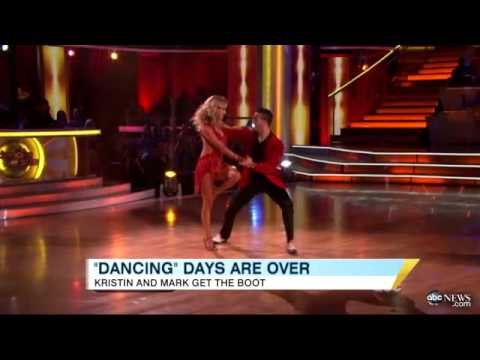 'dancing With The Stars' Results Shocker: Kristin Cavallari, Mark Ballas Booted On Week 3 video