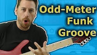 Odd-Meter Lesson with Gregory Bolomey - 7/4 Funk Groove