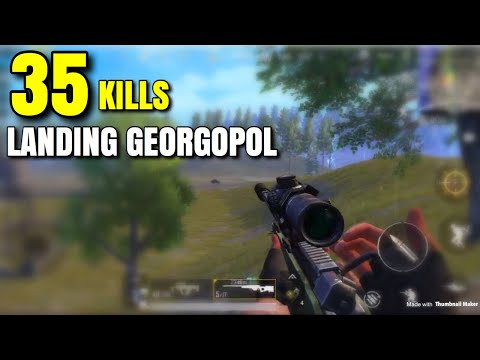 CRAZY GEORGOPOL START! - PUBG Mobile - Psyko Buggy In The Beginning!