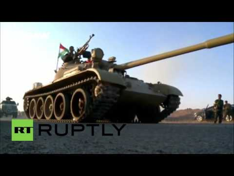 Iraq: Peshmerga tanks join major offensive against IS near Mosul - reports